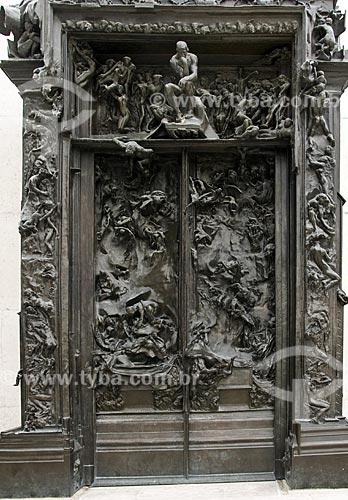 Assunto: Porta do Inferno no Museu Rodin / Local:  Paris - França / Data: 13/09/2009