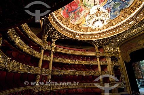 Assunto: Ópera de Paris / Local:  Paris - França / Data: 15/09/2009