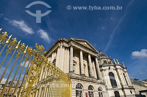 Assunto: Fachada do Palácio de Versalhes / Local: Paris - França / Data: 12/09/2009