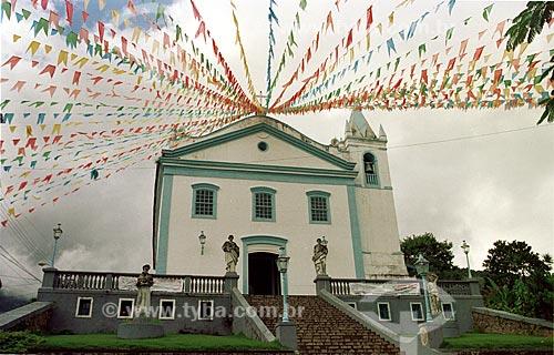 Assunto: Igreja da Matriz de Nossa Senhora da Ajuda / Local: Ilhabela - São Paulo (SP) - Brasil / Data: 05/2004