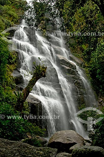 Assunto: Cachoeira Véu de Noiva no Parque Nacional do Itatiaia  / Local:  Itatiaia, - Rio de Janeiro - RJ - Brasil  / Data: 12/2008
