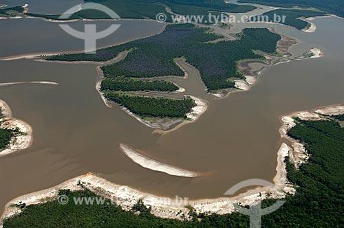 Assunto: Vista aérea do Rio Igapó-açu  / Local:  Amazonas (AM) - Brasil  / Data: 03/11/2007