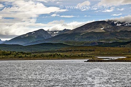 Assunto: Canal de Beagle no Parque Nacional da Terra do Fogo em Ushuaia  / Local:  Patagônia - Chile  / Data: 27/02/2010