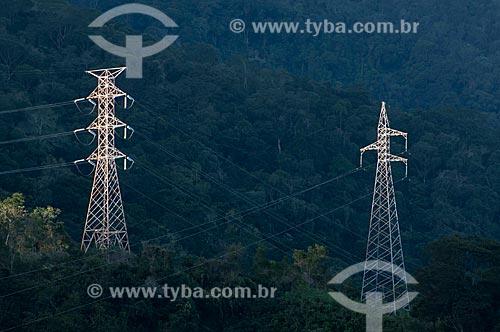 Assunto: Torre de transmissão de energia elétrica  / Local: BR101 entre Angra dos Reis e Rio de Janeiro  / Data: 06/2010