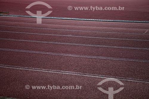 Assunto: Pista de atletismo do Estádio Jornalista Mário Filho - Maracanã  / Local:  Rio de Janeiro - RJ - Brazil  / Data: 06/2010