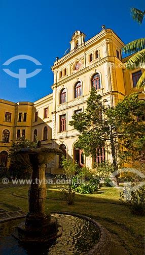 Assunto: Pátio interno do Colégio Anchieta  / Local:  Nova Friburgo - Rio de Janeiro - RJ - Brasil  / Data: 06/2010