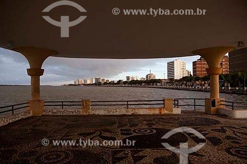 Assunto: Ponte do Imperador a margem do Rio Sergipe.  / Local:  Aracaju - Sergipe (SE) - Brasil  / Data: 07/2010