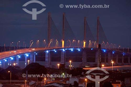 Assunto: Ponte Governador João Alves que liga Aracaju e Ilha de Santa Luzia  / Local:  Aracaju - Sergipe (SE) - Brasil  / Data: 07/2010