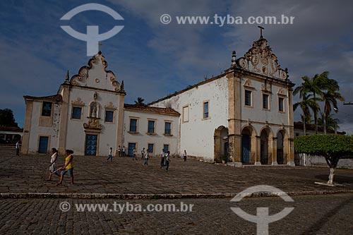 Assunto: Igreja de Nossa Senhora do Carmo I e II na Praça de São Francisco da Cidade de São Cristóvão.  / Local:  São Cristóvão - Sergipe (SE) - Brasil  / Data: 07/2010