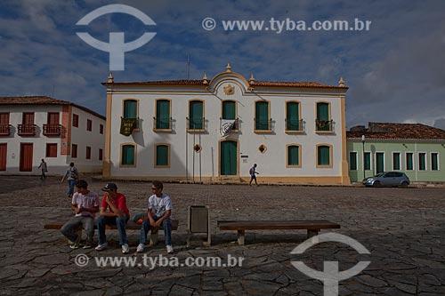 Antigo Palácio Provincial (Museu Histórico de Sergipe) da primeira metade do século XIX, Praça de São Francisco (Patrimônio Histórico da Humanidade da Unesco desde 01 de agosto de 2010) na Cidade de São Cristóvão  - São Cristóvão - Sergipe - Brasil