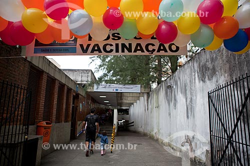 Assunto: Vacinação contra poliomielite no Posto de Saúde da Tijuca  / Local:  Rua Desembargador Isidro, 144 - Tijuca - Rio de Janeiro (RJ)  / Data: 08/2010