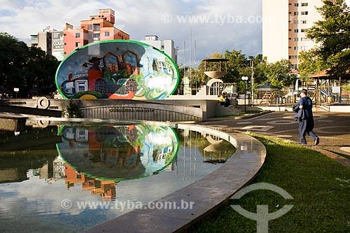 Assunto: Concha acústica na Praça Dogello Goss / Local: Concórdia - Santa Catarina (SC) - Brasil / Data: 10/05/2010