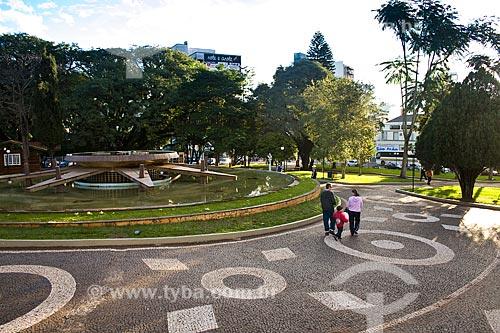 Assunto: Praça Dogello Goss / Local: Concórdia - Santa Catarina (SC) - Brasil / Data: 10/05/2010
