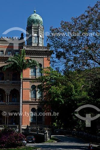 Assunto: Fachada da sede da Fundação Oswaldo Cruz  / Local:  Rio de Janeiro - RJ - Brasil  / Data: 02/09/2010