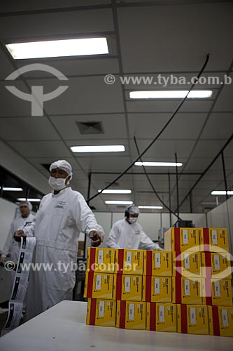 Assunto: Produção de vacinas de febre amarela no campus de Biotecnologia na Biomanguinhos - Fiocruz - Fundação Oswaldo Cruz  / Local:  Rio de Janeiro - RJ - Brasil  / Data: 09/2010
