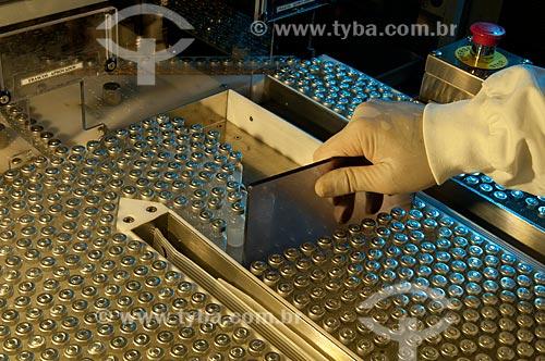 Assunto: Produção de vacinas no campus de Biotecnologia na Biomanguinhos - Fiocruz - Fundação Oswaldo Cruz  / Local:  Rio de Janeiro - RJ - Brasil  / Data: 09/2010
