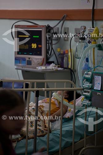 Assunto: Hospital de Bonsucesso, enfermaria da pediatria  / Local:  Bonsucesso - Rio de Janeiro - RJ  / Data: 08/2010