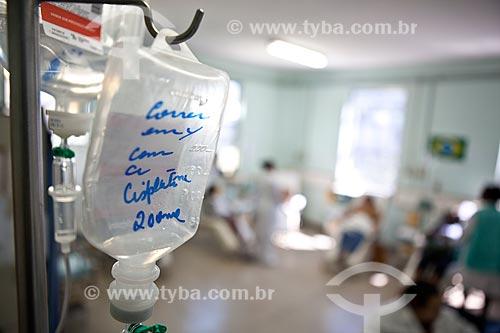 Assunto: Hospital de Bonsucesso - Soro para os pacientes da quimioterapia  / Local:  Bonsucesso - Rio de Janeiro - RJ  / Data: 08/2010