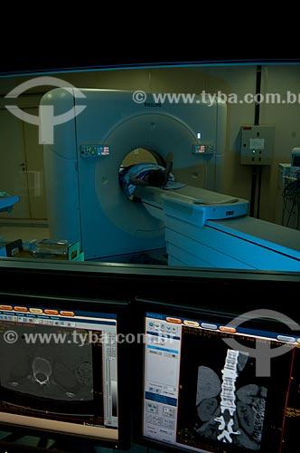 Assunto: Hospital de Bonsucesso, unidade de ressonância magnética  / Local:  Bonsucesso, Rio de Janeiro  / Data: 08/2010