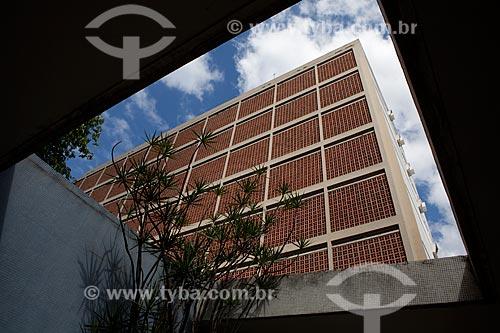 Assunto: Fachada do INCA IV - Instituto Nacional do Câncer  / Local:  Vila Isabel - Rio de Janeiro - RJ  / Data: 09-2010
