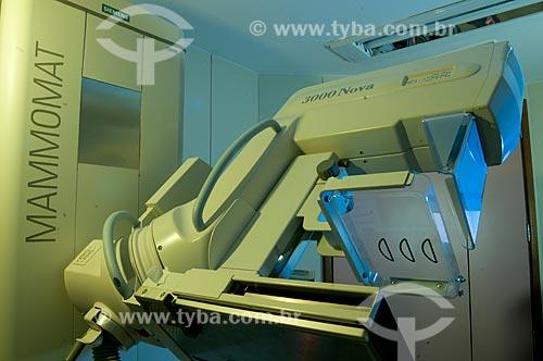Assunto: Equipamento de mamografia do INCA III - Instituto Nacional do Câncer  / Local:  Vila Isabel, RJ  / Data: 09-2010