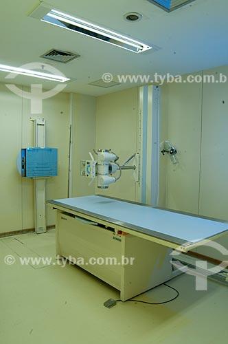 Assunto: Sala de raio x do INCA III - Instituto Nacional do Câncer  / Local:  Vila Isabel, RJ  / Data: 09-2010