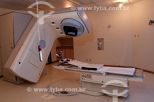 Assunto: Sala de radioterapia do INCA III - Instituto Nacional do Câncer  / Local:  Vila Isabel, RJ  / Data: 09-2010