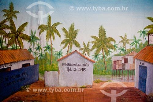 Assunto:  Mural do Centro Educacional de Artesanato