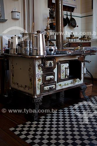 Assunto: Castelinho Caracol, arquitetura de influência alemã da região da Bavária, construída em 1913, atualmente uma Casa de Chá - Museu da Família Franzen  / Local:  Canela - Rio Grande do Sul  / Data:  09 / 2010