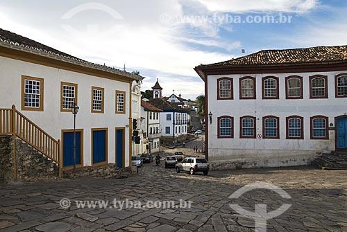 Assunto: Vista do centro comercial e histórico da cidade  / Local:  Diamantina - Minas Gerais - MG - Brasil  / Data: 12/2009