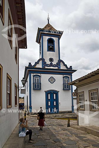 Assunto: Igreja de Senhor do Bonfim dos Militares  / Local:  Diamantina - Minas Gerais - MG  / Data: Dez 2009