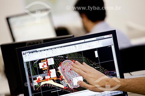 Assunto: Diagonal, arquitetos e urbanistas trabalhando (Equipe Vale)  / Local:  São Paulo - SP  / Data: 06/10/2010