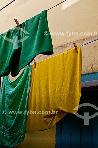 Assunto: Varal de Roupas - Programa de Cortiços e Moradias Coletivas (Diagonal) - Rua João Teodoro  / Local:  Bairro Pari - São Paulo - SP  / Data: 08/10/2010