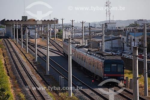 Assunto:  Metrô de superfície  / Local:  Recife - Pernambuco  / Data: 15/10/2010