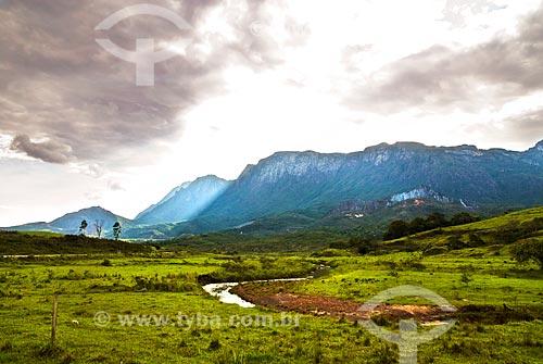 Assunto: Serra do Caraça (Parque Natural do Caraça)  / Local:  Catas Altas - Minas Gerais - MG.Data: 12 / Data: 12/ 2009