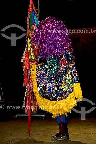 Assunto: Maracatu Piaba de Ouro no Festival do Folclore de Olímpia  / Local:  Olímpia - São Paulo - SP  / Data: 08/2008