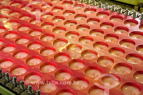 Assunto: Fábrica de Laticínios - preparo de yogurt  / Local:  São Paulo - SP  / Data: 12/2008