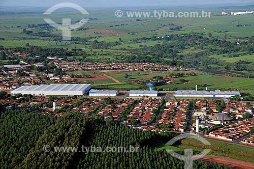 Assunto: Vista aérea da cidade industrial de Guiaçara  / Local:  Guiaçara - São Paulo - SP  / Data: 02/2009