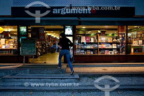 Assunto: Livraria Argumento do Leblon  / Local:  Rua Dias Ferreira 417, Leblon, Rio de Janeiro  / Data: 08/2010