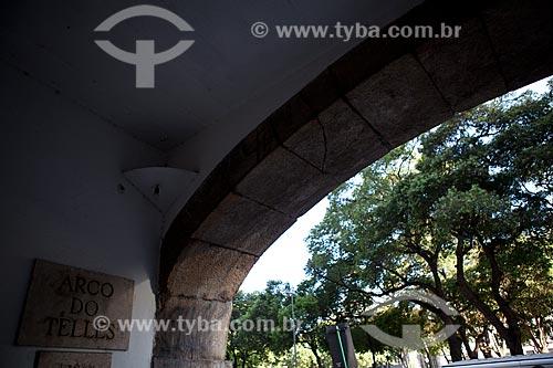 Assunto: Arco do Teles  / Local:  Praça XV de Novembro - Rio de Janeiro - RJ  / Data: 11/2010
