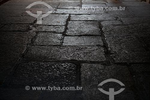 Assunto: Pavimentação do Arco do Teles, na entrada da Rua do Comércio  / Local:  Praça XV de Novembro - Rio de Janeiro - RJ  / Data: 11/2008