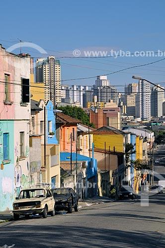 Assunto: Bairro do Cambuçi - Rua Eulália Assunção  / Local:  São Paulo - SP  / Data: 07/2009