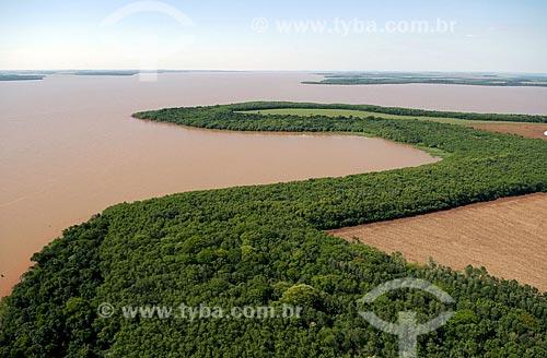 Assunto: Lago formado pela Hidrelétrica de Itaipu  / Local:  Foz do Iguaçu - Paraná - PR  / Data: 11/2009
