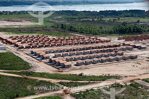 Assunto: Canteiro de Obras do Projeto Minha Casa Minha Vida - Complexo Residencial Vale do Tocantins  / Local:   Marabá - Pará  - Brasil  / Data: 10/2010