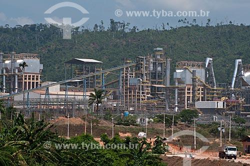 Assunto:  Unidade Operacional Onça Puma, mais conhecida na região como SITE, da companhia Vale para exploração de níquel  / Local:  Ourilândia do Norte - Pará  - Brasil  / Data: 01/11/2010