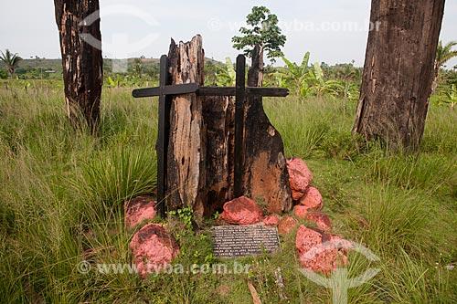 Assunto:  Memorial ao Massacre dos Sem Terra ocorrido em 1996  / Local:   Eldorado dos Carajás - Pará  - Brasil  / Data: 29/10/2010