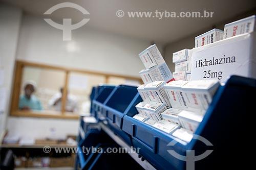 Assunto: Farmácia do Hospital Cardoso Fontes  / Local:  Jacarepaguá - Rio de Janeiro  / Data: 09/2010