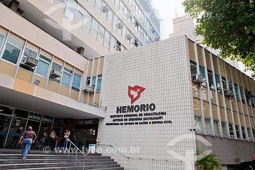 Assunto: Fachada do prédio do HemoRio  / Local:  Rua Frei Caneca - Rio de Janeiro - RJ  / Data: 29/09/2010