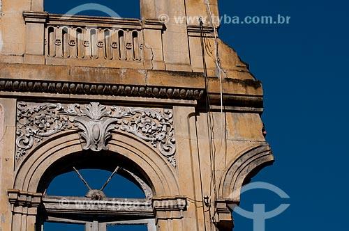 Assunto: Ruínas no centro histórico do Rio de Janeiro - Rua Uruguaiana  / Local:  Centro - Rio de Janeiro - RJ - Brasil  / Data: 11/2010