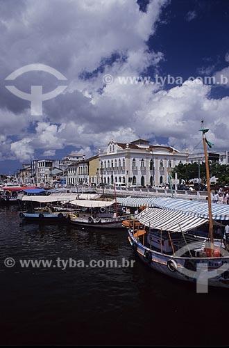 Assunto: Cidade de Valença, às margens do Rio Una  / Local:  Valença - BA - Brazil  / Data: